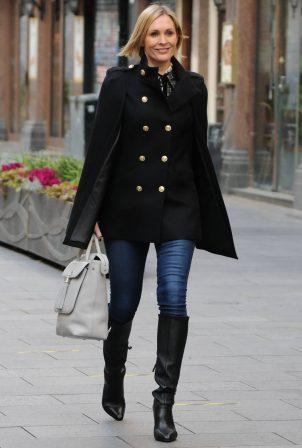 Jenni Falconer - Seen leaving Smooth FM in London