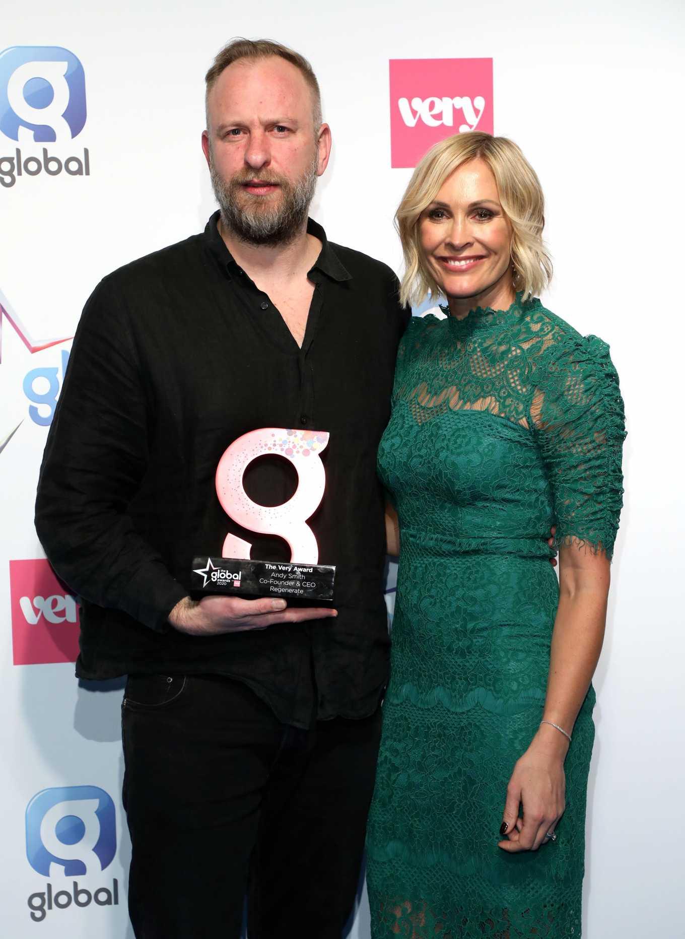 Jenni Falconer 2020 : Jenni Falconer – The Global Awards 2020 in London-02
