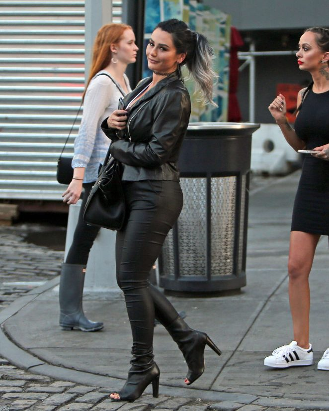 Jenni Farley out in New York City