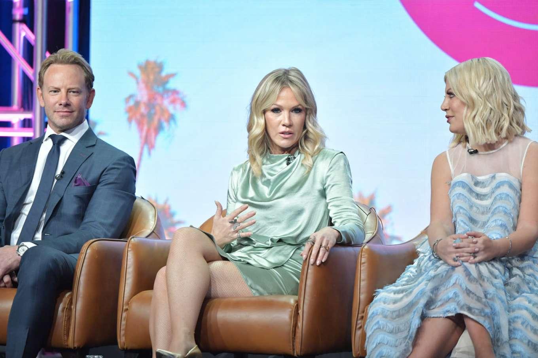 Jennie Garth and Tori Spelling - 2019 Summer TCA Press Tour in Beverly Hills