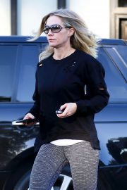 Jennie Garth in Tights - Out in Studio City