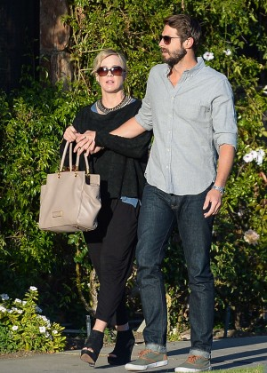 Jennie Garth with fiance David Abrams -12