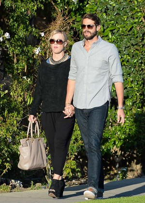 Jennie Garth with fiance David Abrams -15