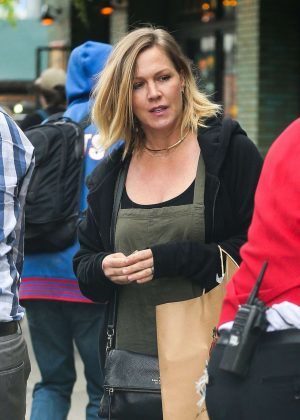 Jennie Garth Out in New York
