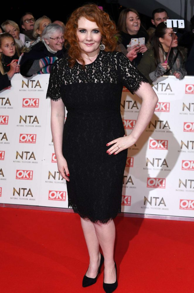 Jennie McAlpine - 2017 National Television Awards in London