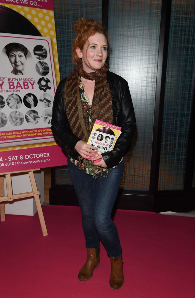 Jennie McAlpine - Be My Baby Press Night in Manchester