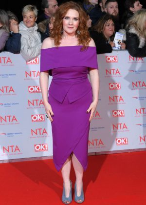 Jennie McAlpine - National Television Awards 2018 in London