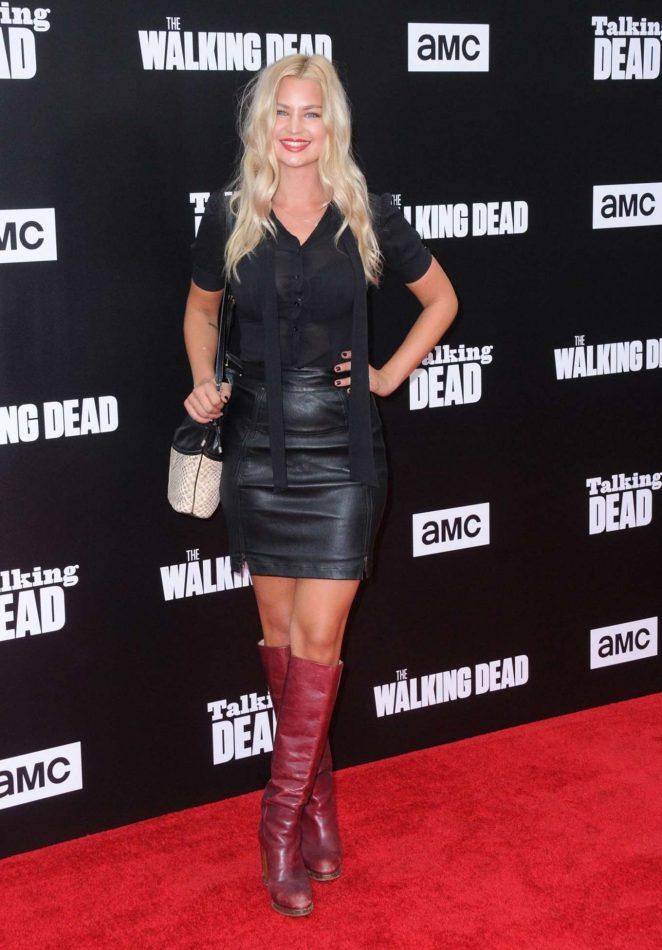 Jennifer Akerman - 90-minute Special Edition Of 'Talking Dead' in Hollywood
