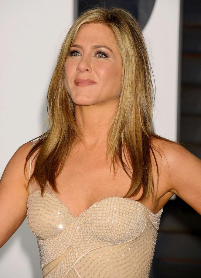Jennifer Aniston - 2015 Vanity Fair Oscar Party in Hollywood