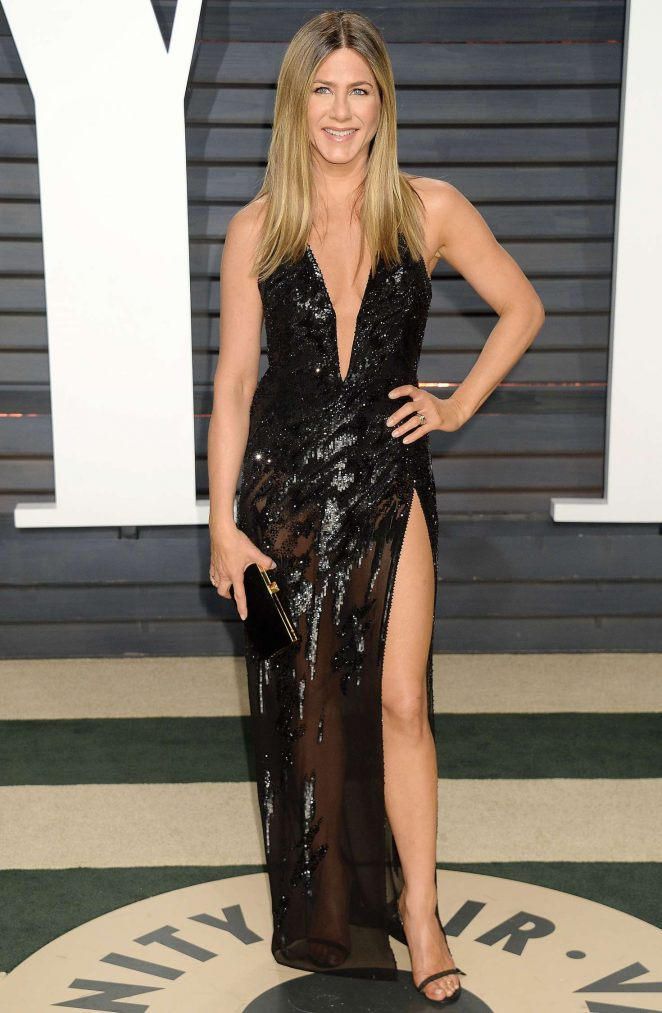 Jennifer Aniston - 2017 Vanity Fair Oscar Party in Hollywood