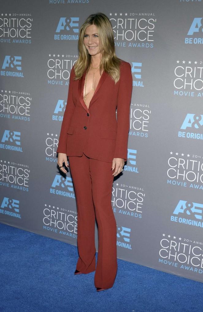 Jennifer Aniston: 2015 Critics Choice Movie Awards -14