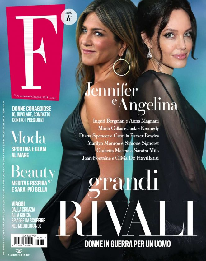 Jennifer Aniston and Angelina Jolie - F Magazine (August 2018)
