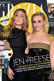 Jennifer Aniston and Reese Witherspoon - Grazia UK Magazine (November 2019)