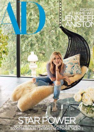 Jennifer Aniston - Architectural Digest's (March 2018)