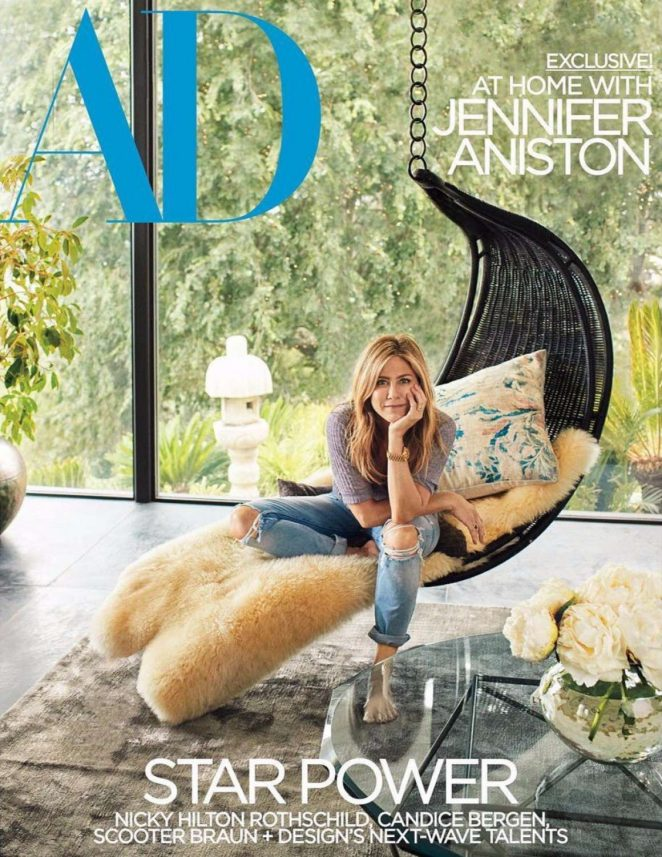 Jennifer Aniston - Architectural Digest's (March 2018)