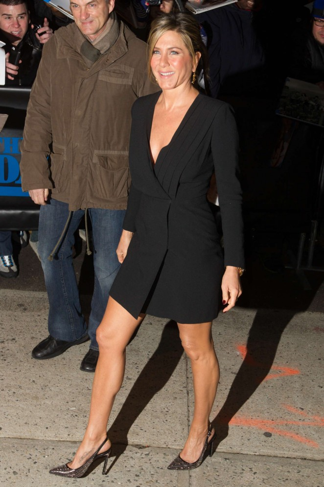 """Jennifer Aniston - Arriving at """"The Daily Show with Jon Stewart"""" in NY"""