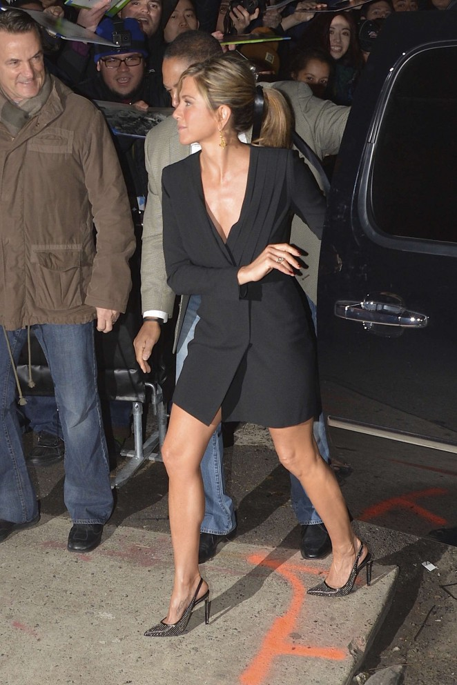 Jennifer Aniston – Arriving at The Daily Show with Jon Stewart -07