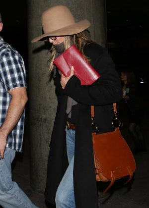 Jennifer Aniston at LAX Airport in Los Angeles