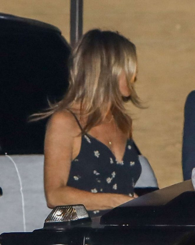 Jennifer Aniston at Nobu in LA