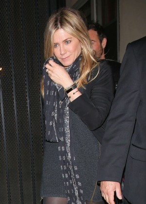 Jennifer Aniston at Reese Witherspoon's 40th Birthday Party in Los Angeles