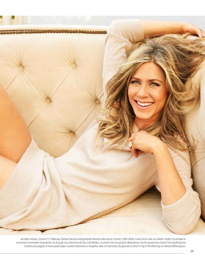 Jennifer Aniston – F. N1 Magazine (January 2019)