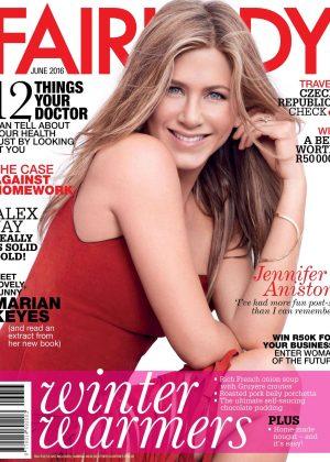 Jennifer Aniston - Fairlady Magazine (June 2016)