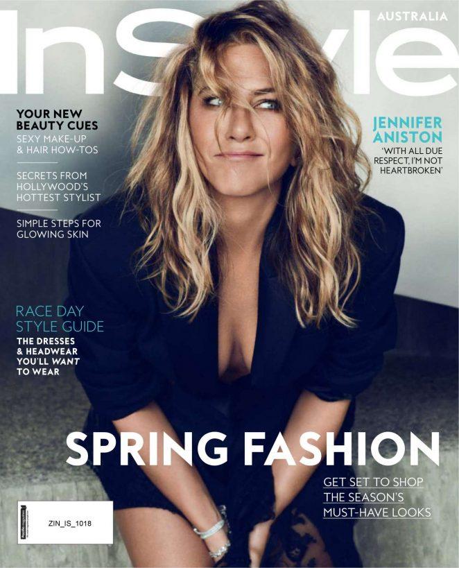 Jennifer Aniston for InStyle Australia Magazine (October 2018)