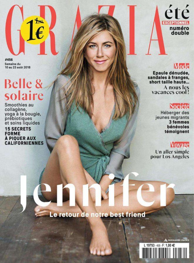 Jennifer Aniston - Grazia France Magazine (August 2018)