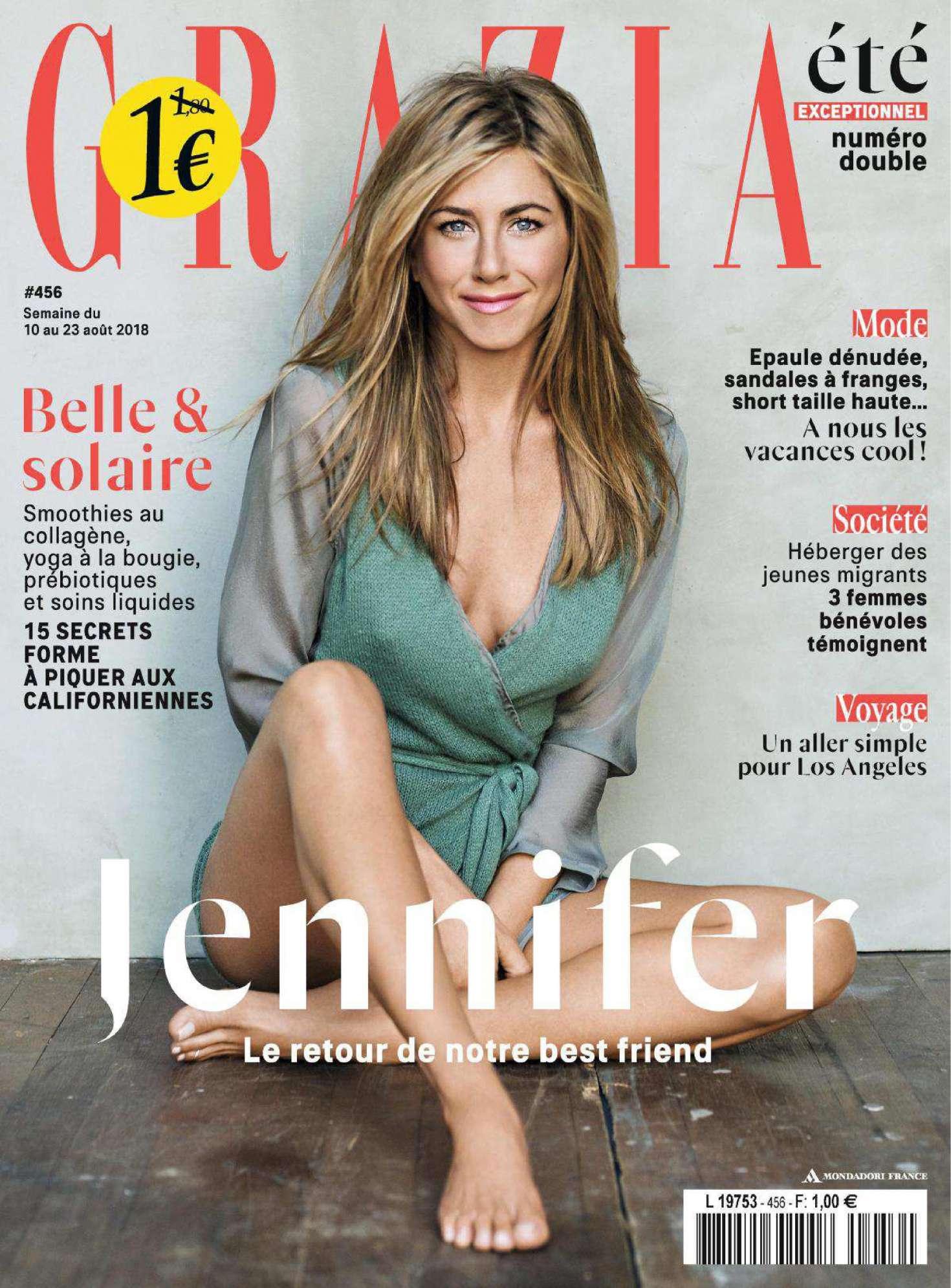 Jennifer Aniston – Grazia France Magazine (August 2018)