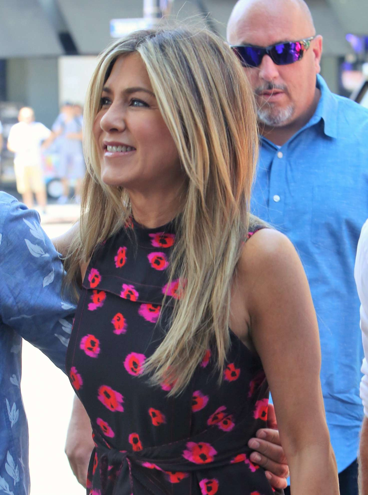 Jennifer Aniston – Jason Bateman Hollywood Walk Of Fame Ceremony in Hollywood   Jennifer-Aniston:-Jason-Bateman-Hollywood-Walk-Of-Fame-Ceremony--02
