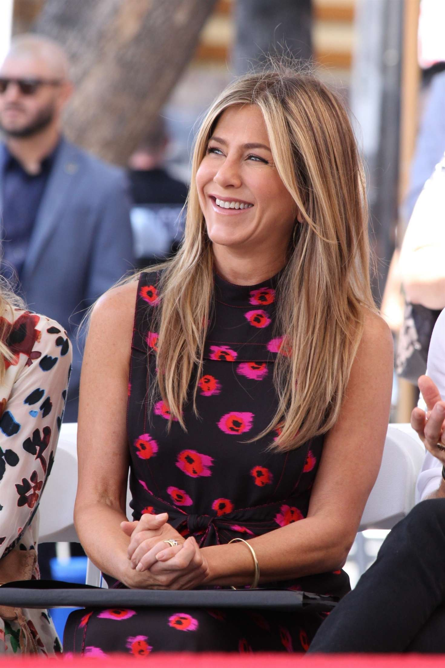 Jennifer Aniston – Jason Bateman Hollywood Walk Of Fame Ceremony in Hollywood   Jennifer-Aniston:-Jason-Bateman-Hollywood-Walk-Of-Fame-Ceremony--03