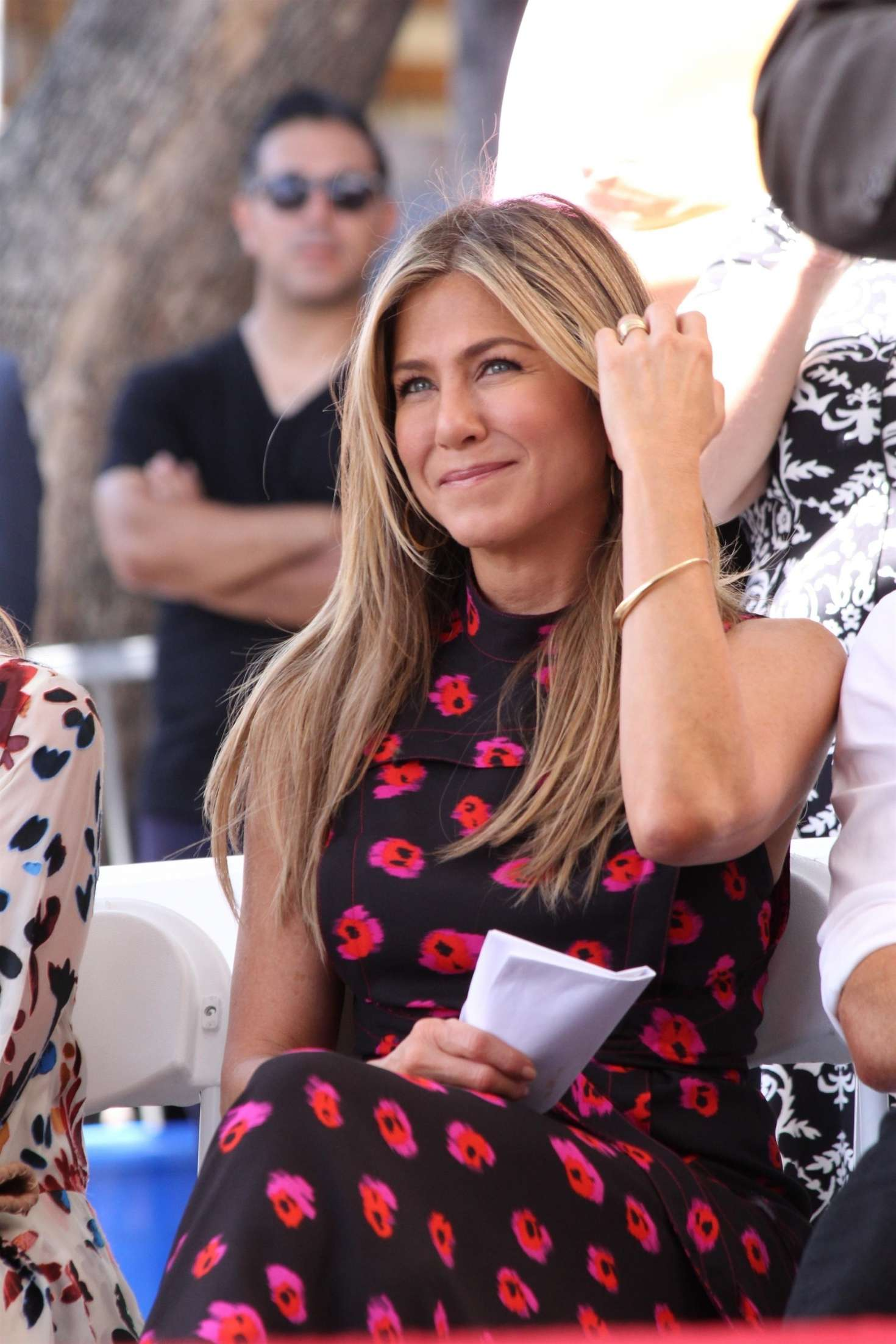 Jennifer Aniston – Jason Bateman Hollywood Walk Of Fame Ceremony in Hollywood   Jennifer-Aniston:-Jason-Bateman-Hollywood-Walk-Of-Fame-Ceremony--08