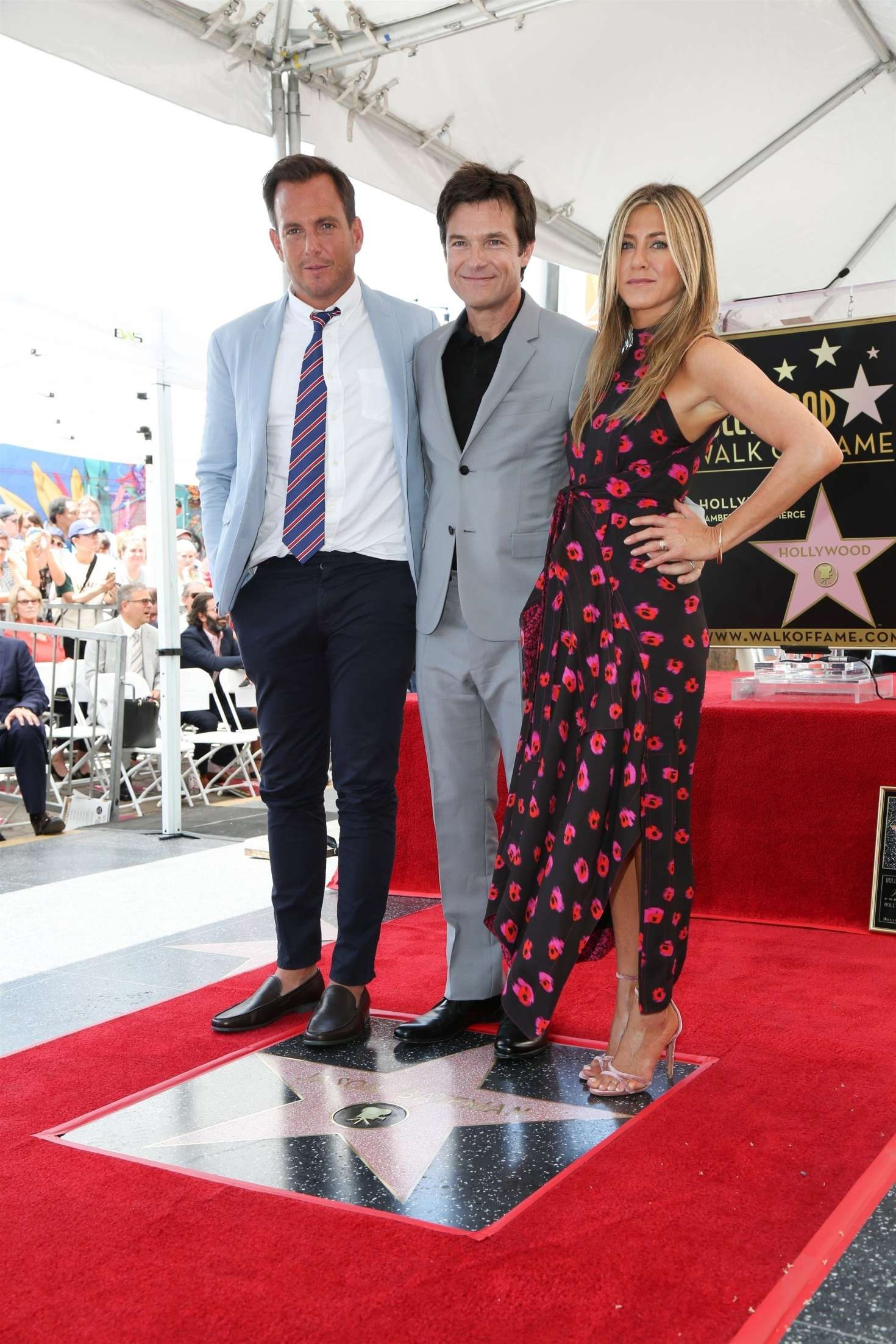 Jennifer Aniston – Jason Bateman Hollywood Walk Of Fame Ceremony in Hollywood   Jennifer-Aniston:-Jason-Bateman-Hollywood-Walk-Of-Fame-Ceremony--09
