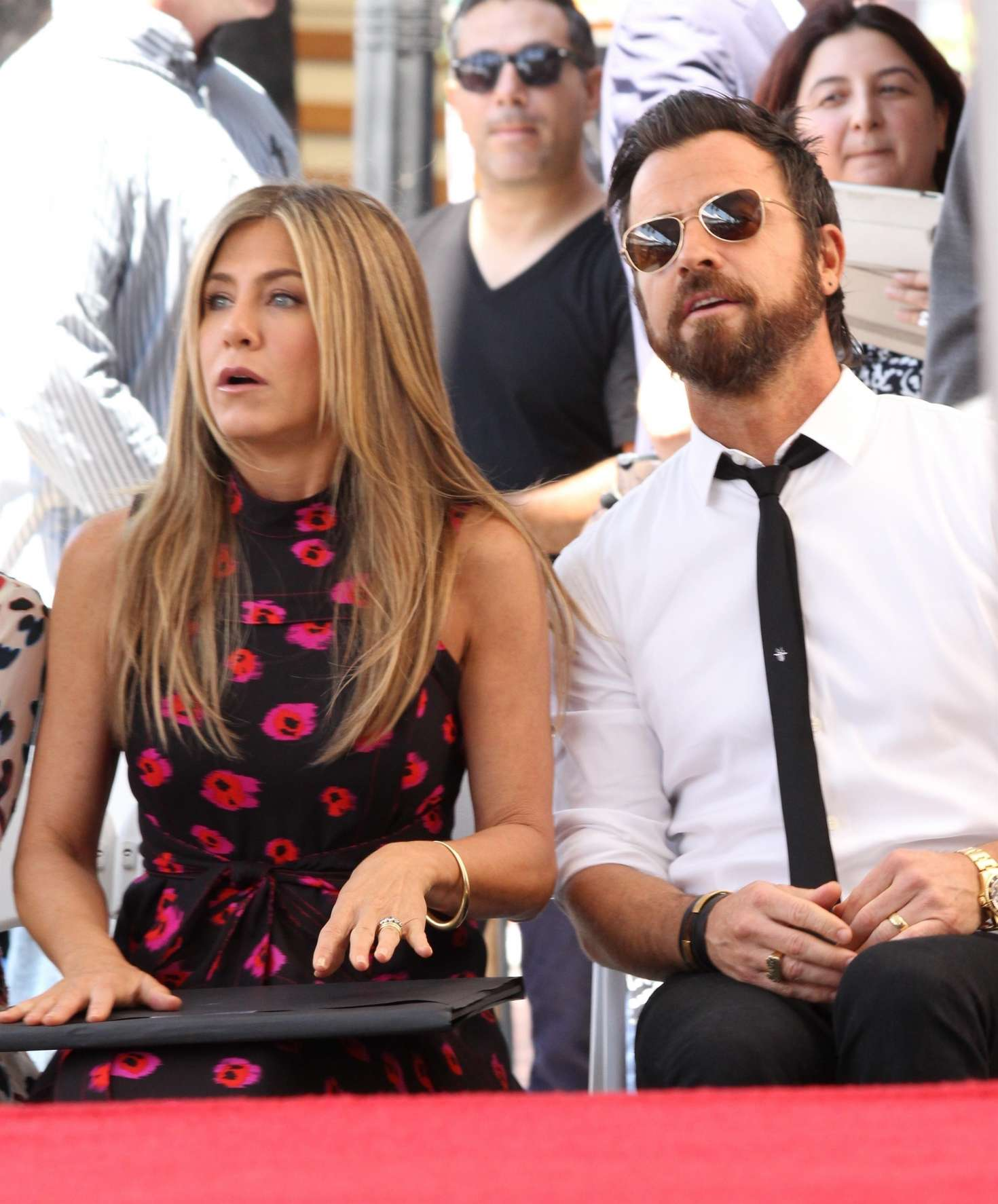 Jennifer Aniston – Jason Bateman Hollywood Walk Of Fame Ceremony in Hollywood   Jennifer-Aniston:-Jason-Bateman-Hollywood-Walk-Of-Fame-Ceremony--12
