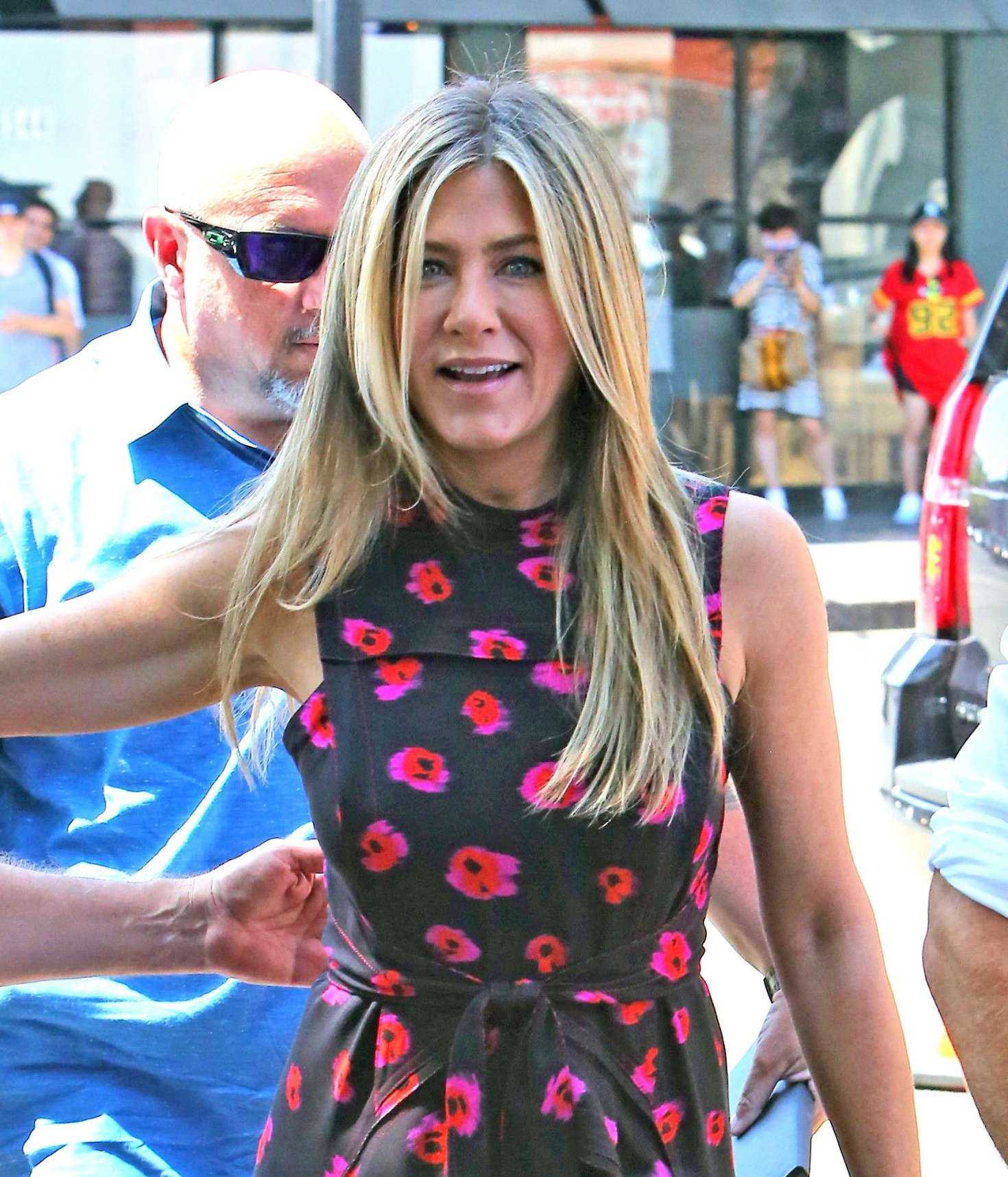 Jennifer Aniston – Jason Bateman Hollywood Walk Of Fame Ceremony in Hollywood   Jennifer-Aniston:-Jason-Bateman-Hollywood-Walk-Of-Fame-Ceremony--14