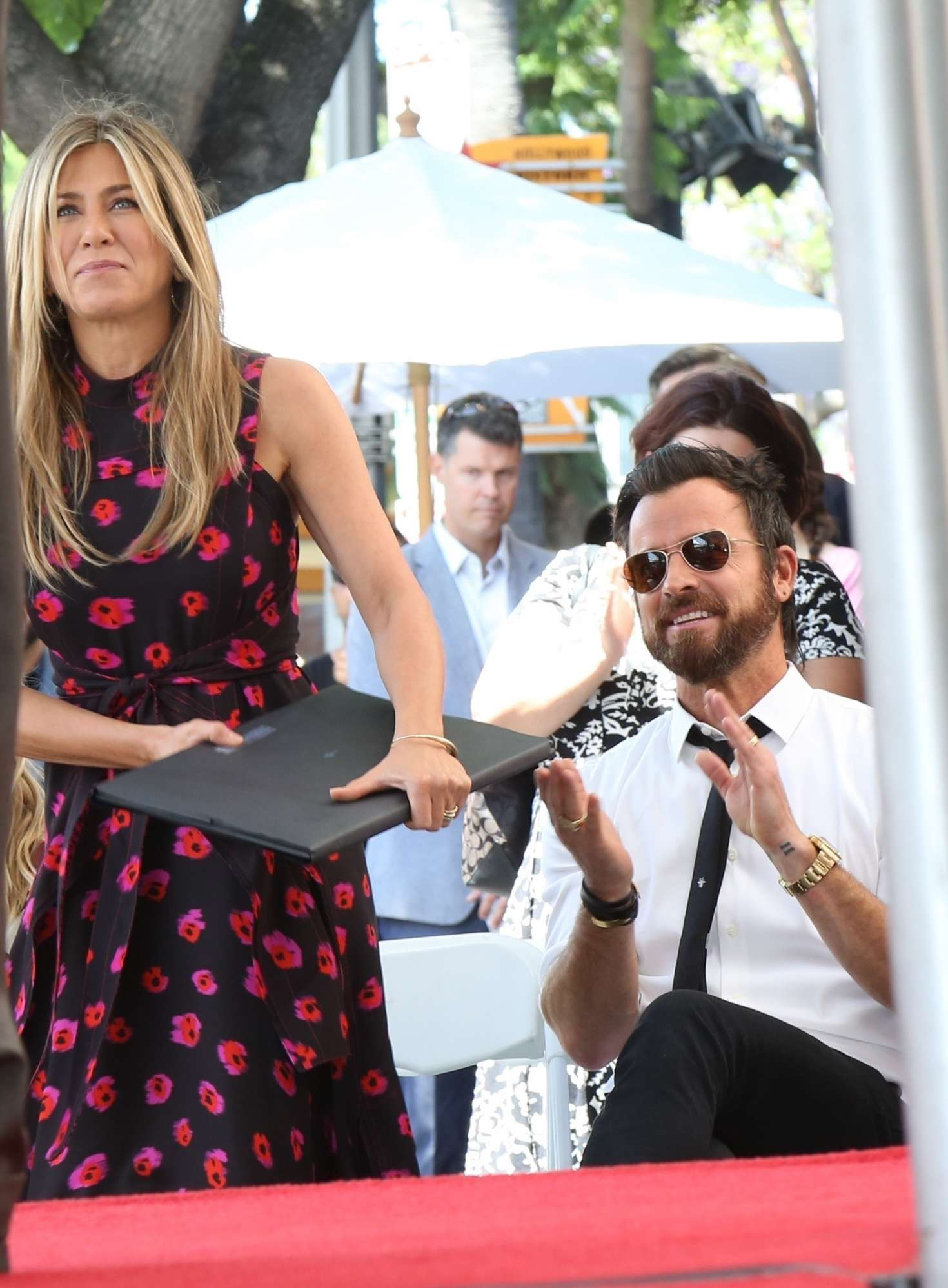 Jennifer Aniston – Jason Bateman Hollywood Walk Of Fame Ceremony in Hollywood   Jennifer-Aniston:-Jason-Bateman-Hollywood-Walk-Of-Fame-Ceremony--19