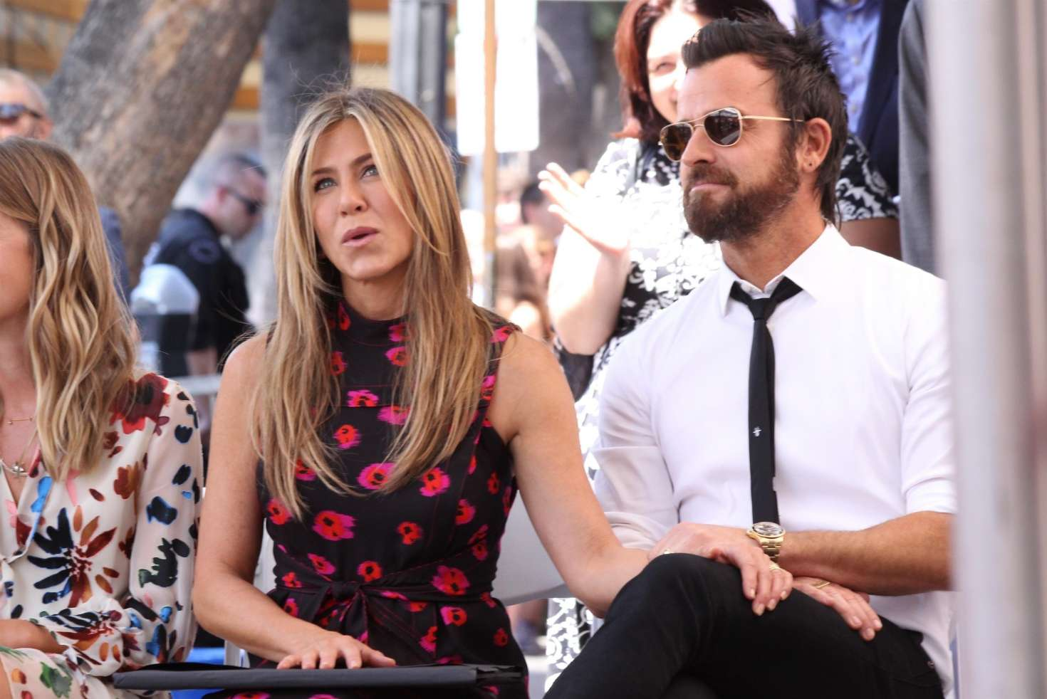 Jennifer Aniston – Jason Bateman Hollywood Walk Of Fame Ceremony in Hollywood   Jennifer-Aniston:-Jason-Bateman-Hollywood-Walk-Of-Fame-Ceremony--20