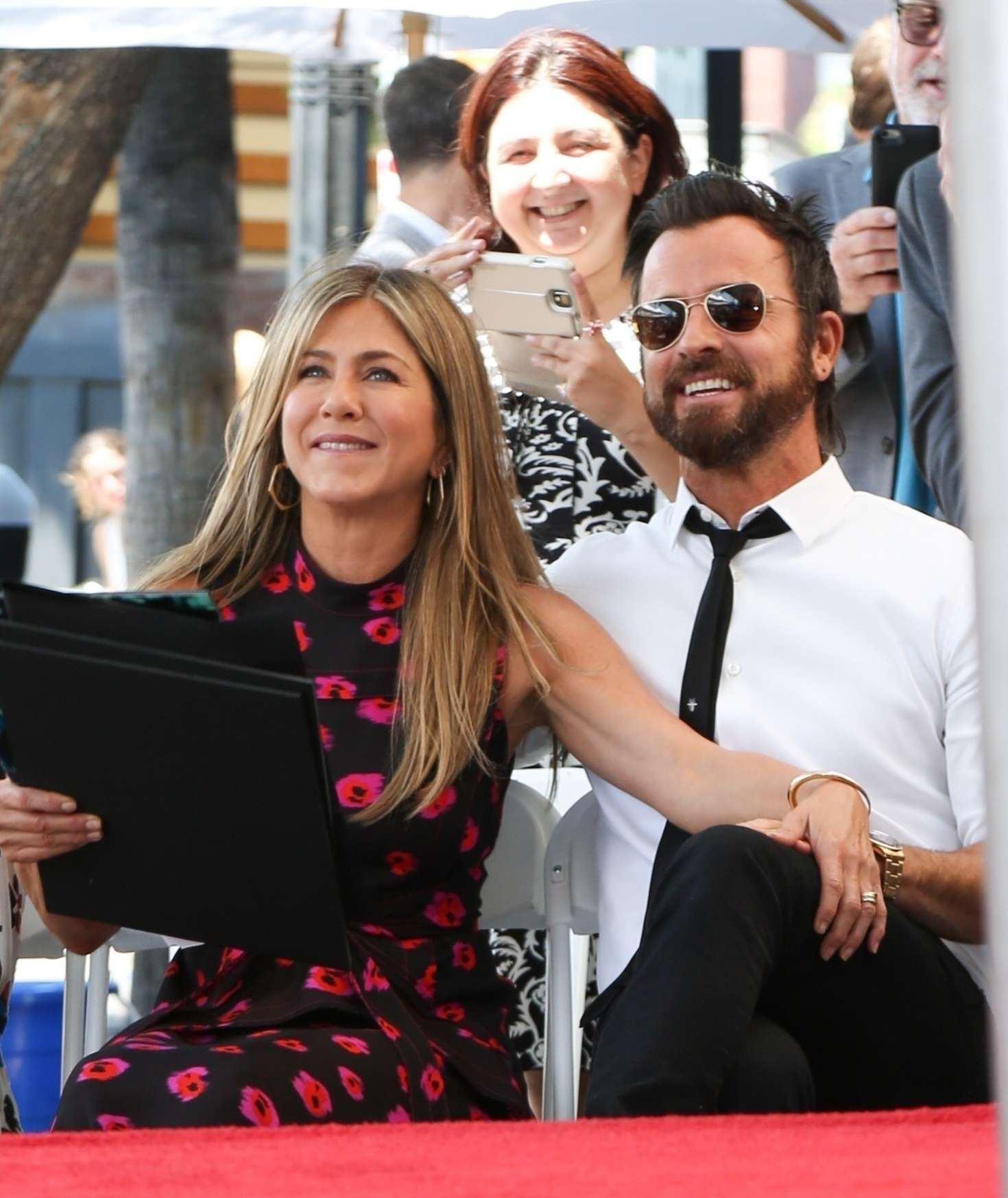 Jennifer Aniston – Jason Bateman Hollywood Walk Of Fame Ceremony in Hollywood   Jennifer-Aniston:-Jason-Bateman-Hollywood-Walk-Of-Fame-Ceremony--31