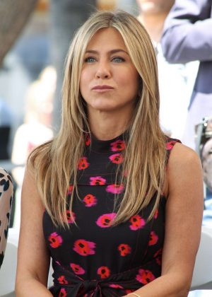 Jennifer Aniston - Jason Bateman Hollywood Walk Of Fame Ceremony in Hollywood
