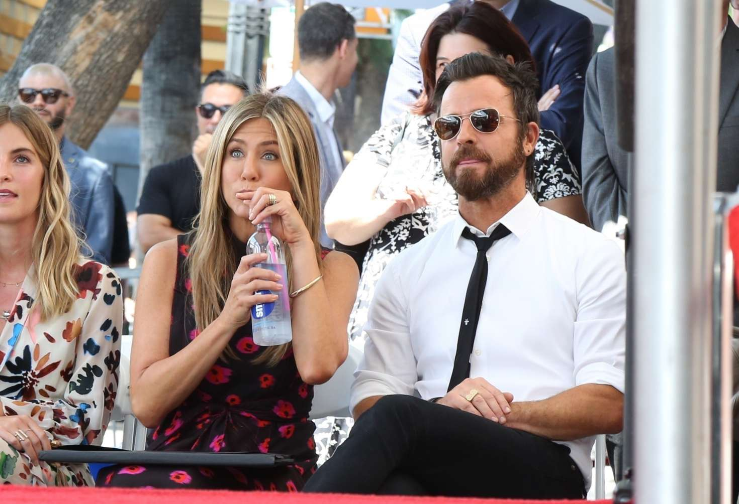 Jennifer Aniston – Jason Bateman Hollywood Walk Of Fame Ceremony in Hollywood   Jennifer-Aniston:-Jason-Bateman-Hollywood-Walk-Of-Fame-Ceremony--41