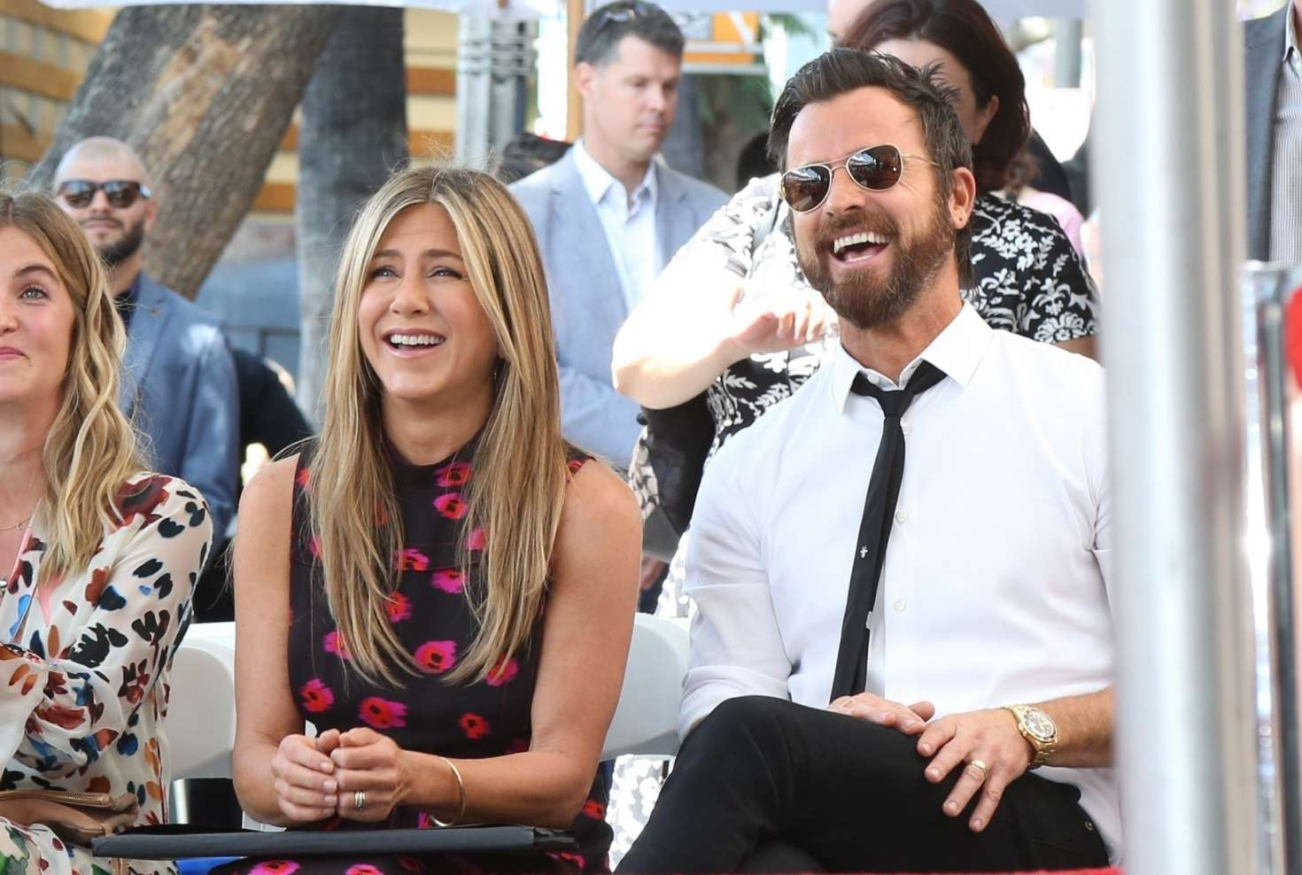 Jennifer Aniston – Jason Bateman Hollywood Walk Of Fame Ceremony in Hollywood   Jennifer-Aniston:-Jason-Bateman-Hollywood-Walk-Of-Fame-Ceremony--47