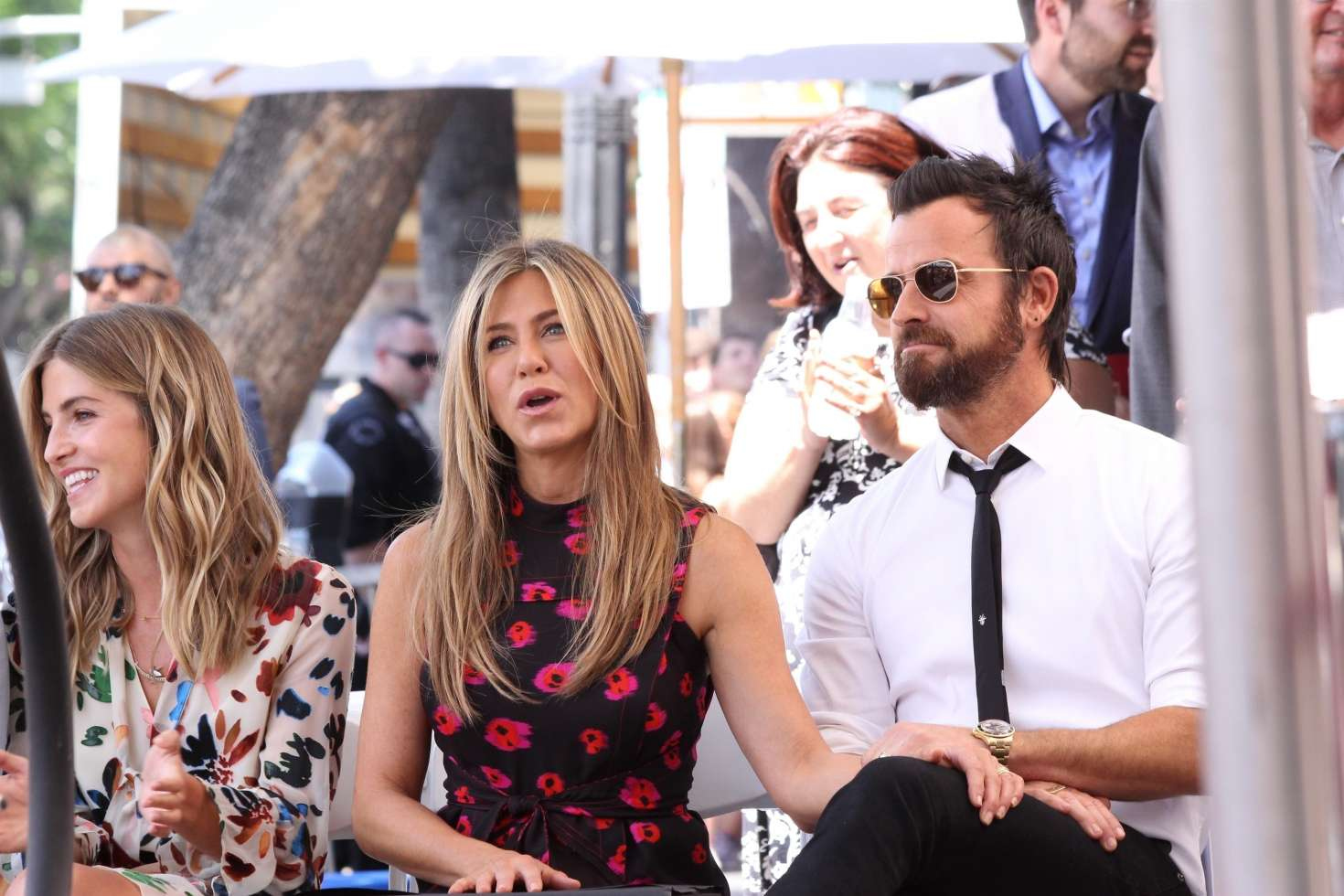 Jennifer Aniston – Jason Bateman Hollywood Walk Of Fame Ceremony in Hollywood   Jennifer-Aniston:-Jason-Bateman-Hollywood-Walk-Of-Fame-Ceremony--54