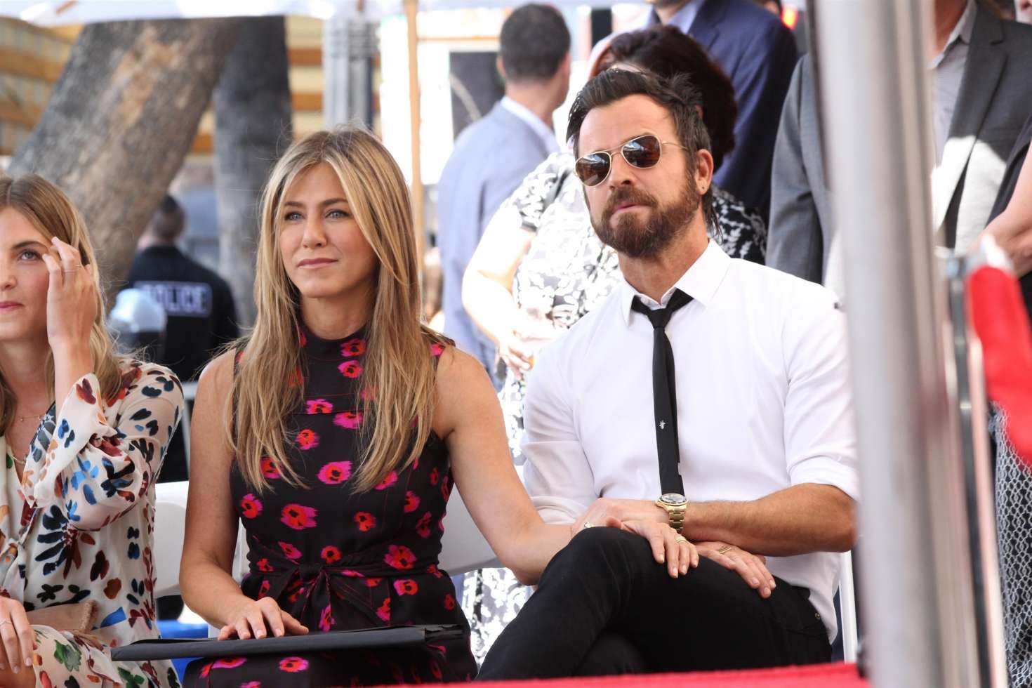 Jennifer Aniston – Jason Bateman Hollywood Walk Of Fame Ceremony in Hollywood   Jennifer-Aniston:-Jason-Bateman-Hollywood-Walk-Of-Fame-Ceremony--65