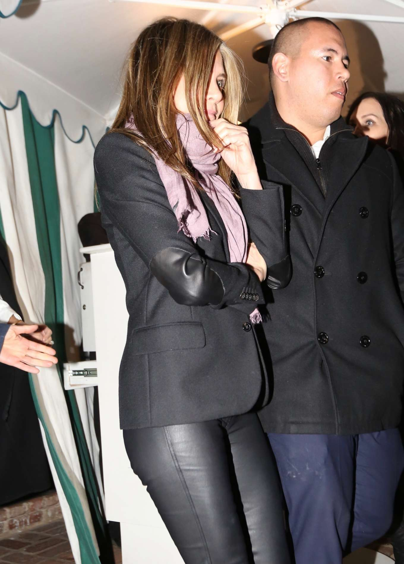 Jennifer Aniston - Leaving Sara Foster Birthday Party in West Hollywood