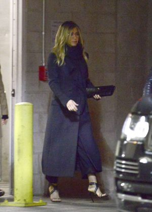 Jennifer Aniston - Leaving the TCL Chinese Theater in Hollywood