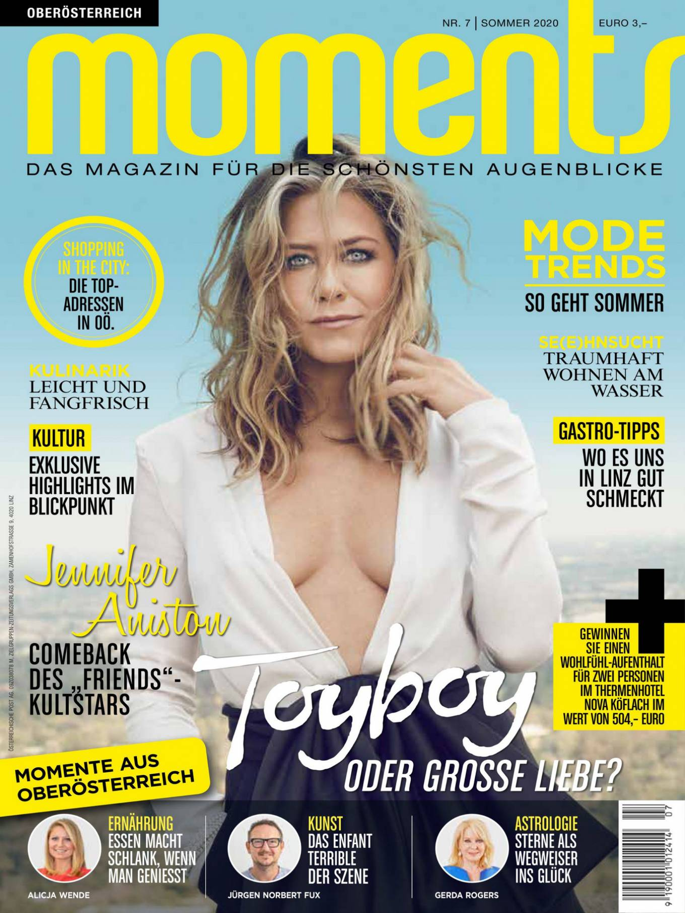 Jennifer Aniston - Moments Magazine (July 2020)