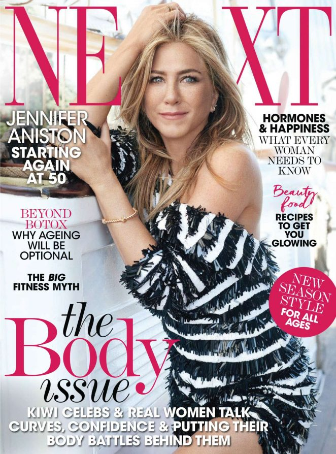 Jennifer Aniston - Next New Zealand (March 2018) Jennifer Aniston News