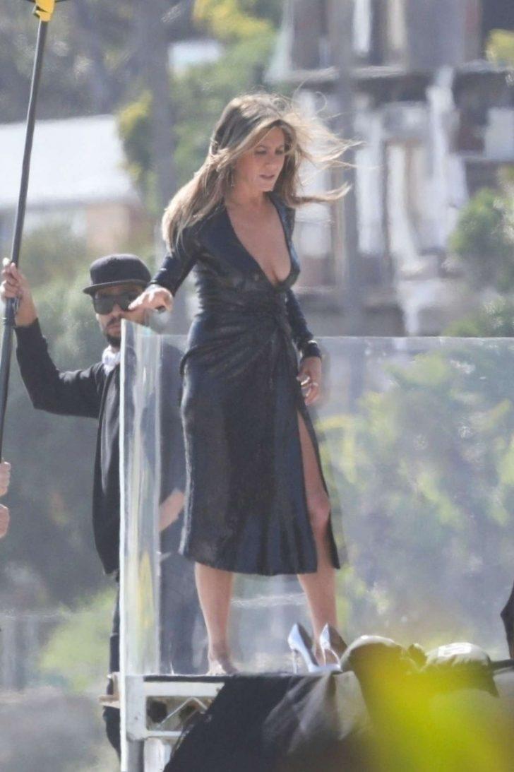 Jennifer Aniston: On a Beach Photoshoot -01