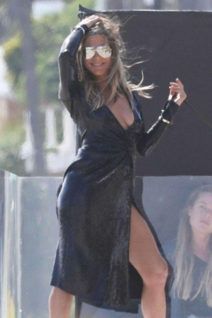 Jennifer Aniston: On a Beach Photoshoot -03