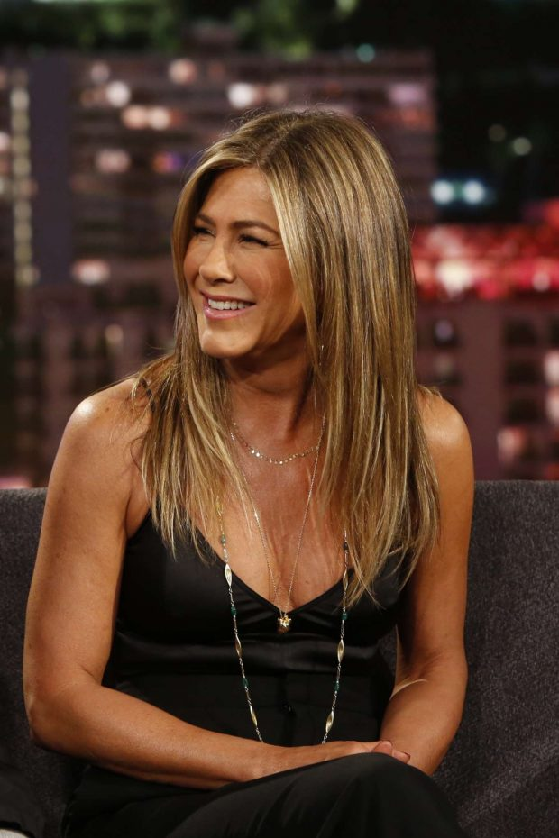 Jennifer Aniston - On Jimmy Kimmel Live! in Los Angeles